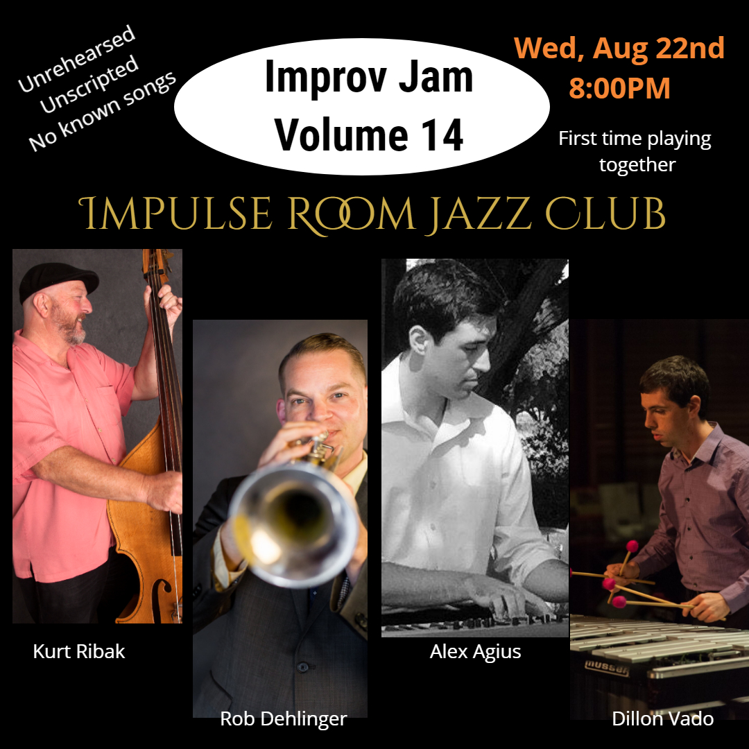 Impulse Room         Improv 14 poster