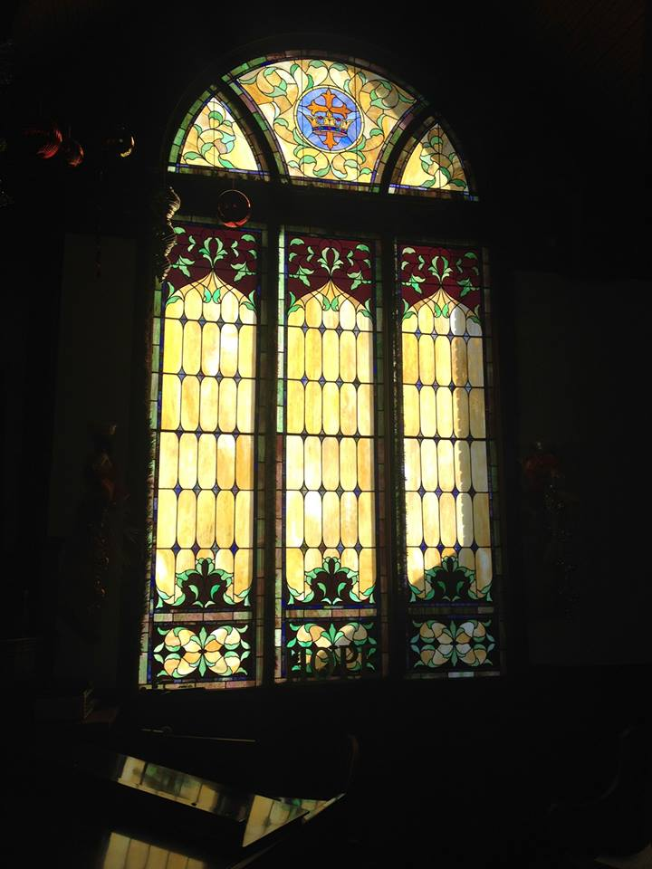 fumc stained               glass