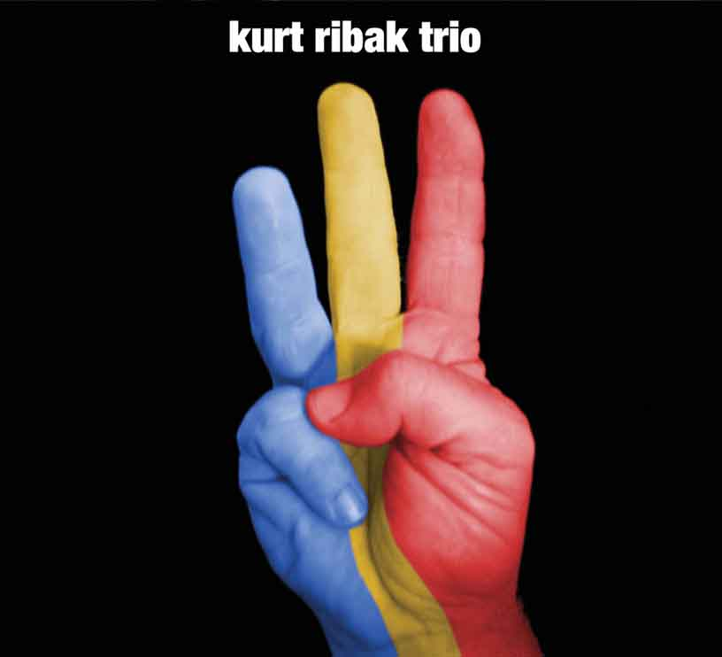 Kurt Ribak           Trio - debut CD cover